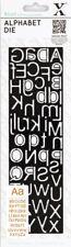 Xcut Alphabet Die Slim Line Upper & Lower Case Letters On 1 Die