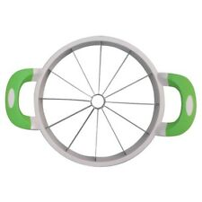 Melon Slicer Cuts 12 Uniform Slices for all Types of Melons (Green)