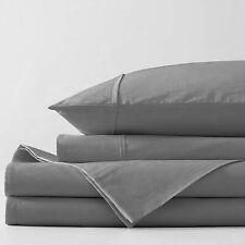 Bellagio Organic Cotton Sheet Set - Gots Certified - Long Staple Heirloom Percal
