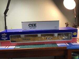 G SCALE USA Trains TTX Intermodal Container R17100 #427060 With 1 TRAILER & Box
