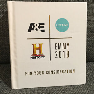 2018 Emmy For Your Consideration A&E, Lifetime, History - 9 DVD Set