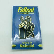 Fallout Loot Crate PERK PIN #9 Rebuild New Free Shipping