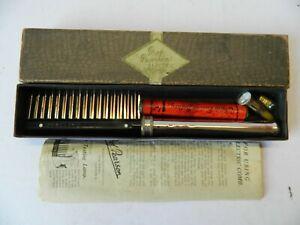 Professor Pearson's Electric Comb Vintage Quack Medicine Device