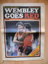 1983 Manchester Evening News-WEMBLEY GOES RED, UNITED v LIVERPOOL, 26 March