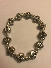 Alloy Skull Men's Fashion Jewelry Bracelet