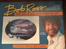 BOB ROSS, JOY OF PAINTING, SERIES15: Companion TV Book, -THIRTEEN FAB PAINTINGS