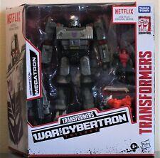 Transformers WFC Netflix MEGATRON Voyager w/ Pinpointer, Lionizer; MISB/New 2020