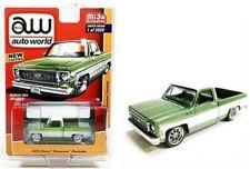 1973 Chevrolet Cheyenne Fleetside  Green *RR* Auto World MiJo excl. 1:64 NEU