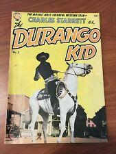 Durango Kid #2 Magazine Enterprises 1949 Frazetta Art VG+