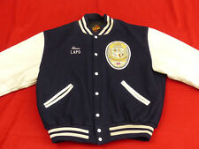 Lapd Casual College Jacket Baseball Rockabilly Vintage USA SIZE: XL Tip Top