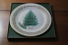 Lenox Annual Christmas Commemorative Plate 1979 Balsam Fir