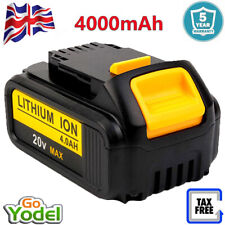 For DeWalt DCB184 18v Li-Ion Battery XR Lithium Ion 4.0Ah DCB182 DCB200 DCB204-2