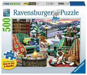 Ravensburger - Apres all Day Jigsaw Puzzle 500pc Large Format