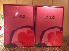 OH, LOLA ! BY MARC JACOBS 3.4 OZ EDT SPRAY FOR WOMEN Sealed X 2