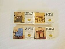 House Of Miniatures Dollhouse Furniture 40012 40016 40005 40004 1750 -1800