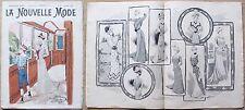 La Nouvelle MODE, N.31, 1899_Rivista di moda illustrata con paginone centrale* >