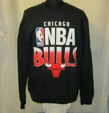 Mitchell & Ness Chicago NBA Bulls Graphic Crewneck Black Sweatshirt Size XL