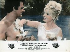 CORNEL WILDE  JEAN WALLACE LANCELOT AND GUINEVERE  1963 VINTAGE LOBBY CARD