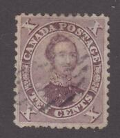 Canada 1859 #17b First Cents Issue - HRH Prince Albert - VF Used