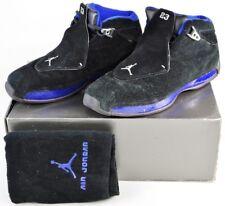 305869-041 Nike Air Jordan XVII Black Sport Royal sz 10.5 17 in Original Box