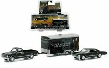 "Greenlight 1:64 Chevrolet ""Supernatural Join The Hunt"" Track & Trailer Car 51006"