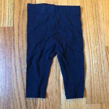 Joe Fresh baby black leggings size 3-6 months