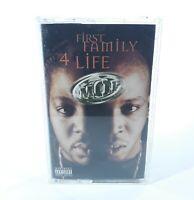 M.O.P. First Family 4 Life Cassette Tape RARE Hip Hop 90s Rap