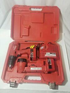 """Milwaukee 0512-21 14.4 Volt 1/2"""" Driver/Drill w/ Case And 14.4 Volt Work Light"""