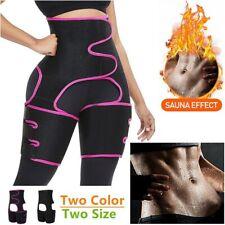 Thigh Waist HighWaist Trimmer Exercise Wrap Belt Sauna Slimming BodyShaper 🇬🇧