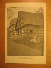 Alte AK Thüringer Bauernhäuser in Rudolstadt Birkenheidener Haus