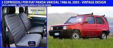 Coprisedili Fiat Panda Van fodere copri sedili su misura dal 1986 al 2003 per 2