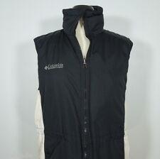 COLUMBIA Women's Vest Windbreaker, Zip Front size S