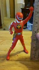 Power Rangers Sentai Hero Vinyl Figure _ Dino-Thunder _ Red Ranger   Fast Ship