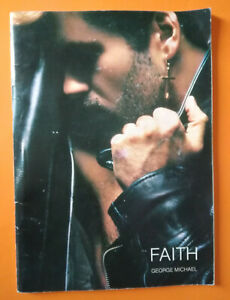 Spartito GEORGE MICHAEL Faith 1987 English Music Sheet IMP Original