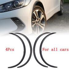 AU 4x 28.7'' Car Wheel Fender Carbon Fiber Eyebrow Arch Trim Lip Flare Protector