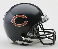 CHICAGO BEARS NFL Riddell VSR-4 ProLine Mini Football Helmet