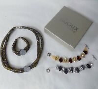 Necklace and Bracelet Jewellery Making Kit with Instructions, Beads, Findings