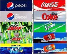 Drink Vending Machine Labels