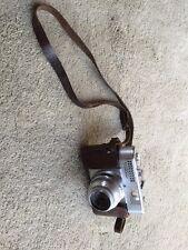 Vintage Voigtlander Vito BL 35mm Film Camera In Leather Case-UNTESTED!!