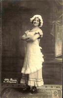 Theater Bühne Prominente 1912 Ulla BAUER als *Josephine* Film Schauspielerin