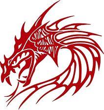 Dragon Head Mythical Creature Beast Car Truck Window Laptop Vinyl Decal Sticker