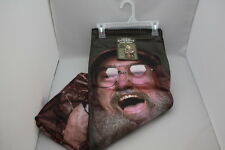 DUCK DYNASTY PLUSH THROW BLANKET HEY JACK UNCLE SI ROBERTSON 46IN X 60IN NWT