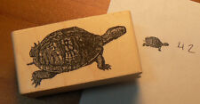 Tortoise, turtle rubber stamp WM P42