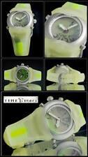Digitaler Chronograph, Uhrzeit analog, mit Plastikband, für Frauen/Jugendliche