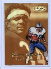 """1999 TOPPS GOLD LABEL #R8 BARRY SANDERS """"RACE TO PAYTON"""" GOLD - DETROIT LIONS"""
