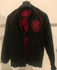 More details for madonna madame x tour red black reversible monogram jacket official limited new