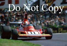 Clay Regazzoni Ferrari 312 B3 British Grand Prix 1974 Photograph