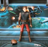 STAR WARS FIGURE 2008 ANIMATED CLONE WARS ANAKIN SKYWALKER PILOT