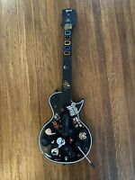 PlayStation 3 Guitar Hero Les Paul PS2 Wireless + Strap No Dongle ( READ DESC)