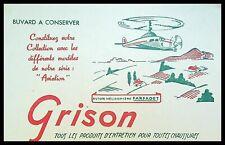 Buvard Publicitaire, GRISON - Produits d'entretien pour Chaussures